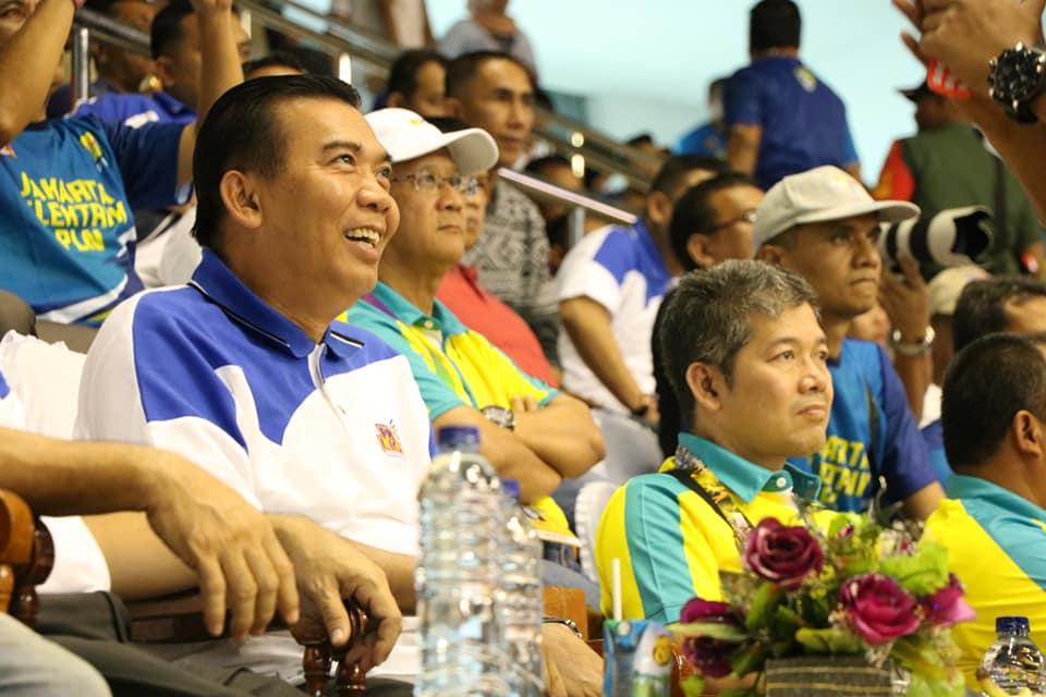 Wali Kota Pekanbaru Hadiri Pertandingan Event Proliga 2019 Putaran II