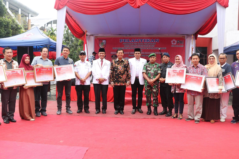 Pelantikan Pengurus PMI Kota Pekanbaru 2018-2023