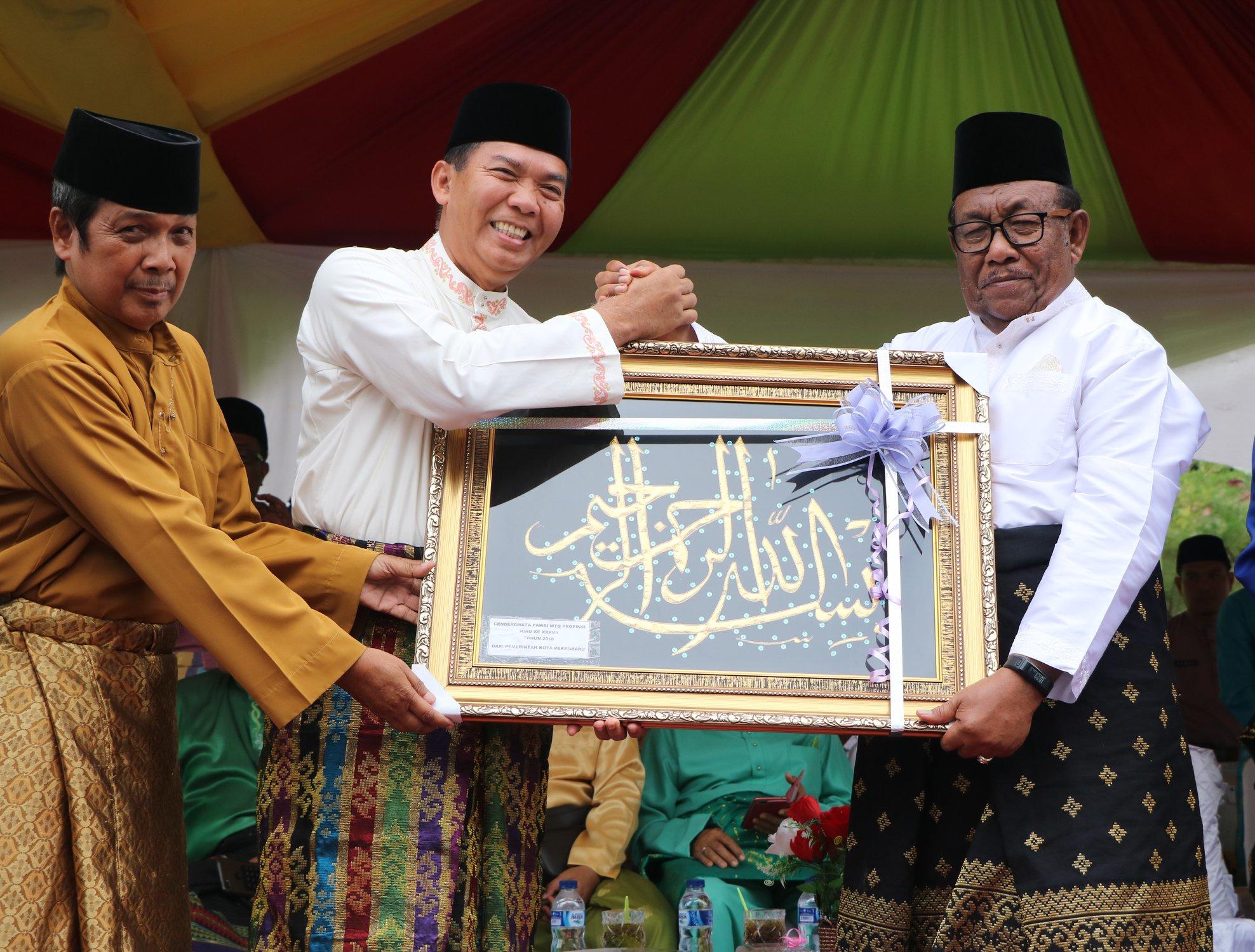 Pawai Kendaraan Hias dalam Rangka Pelaksanaan MTQ XXXVII Provinsi Riau
