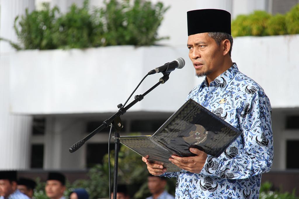 Upacara Peringatan Hari Otonomi Daerah ke-XXII Tahun 2018