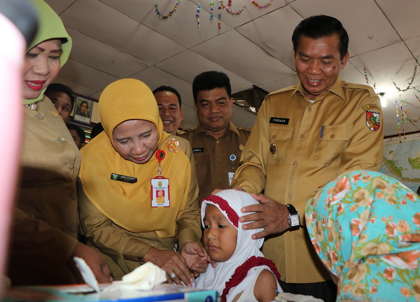 Wali Kota Kampanyekan Imunisasi MR