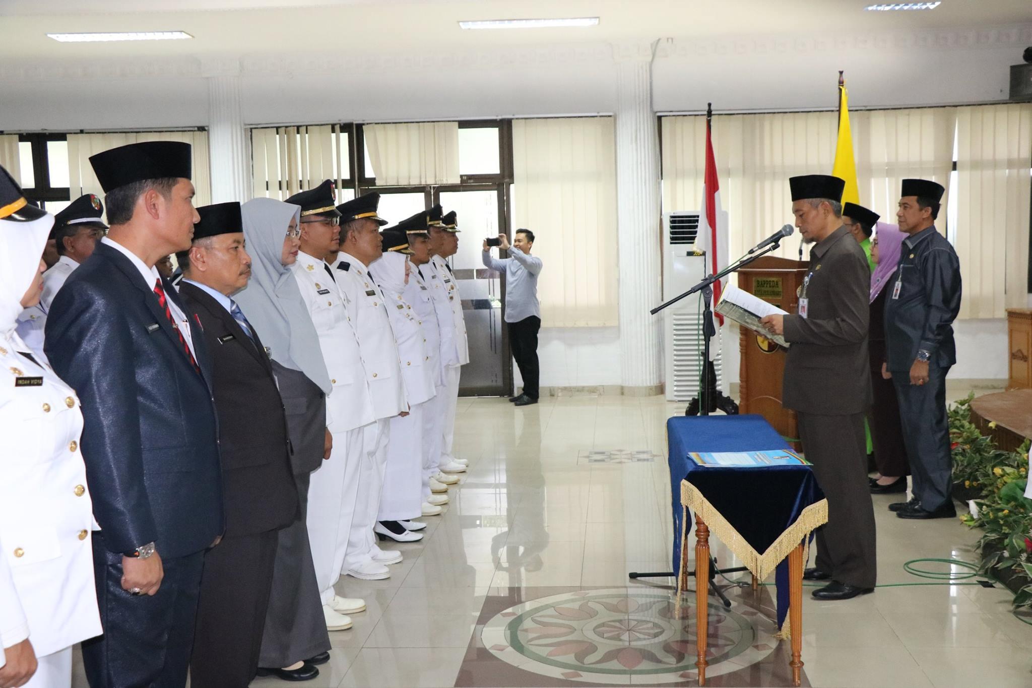 Wakil Walikota Pekanbaru Ayat Cahyadi,S.Si Mengukuhkan, Melantik dan Pengambilan Sumpah/Janji Jabata
