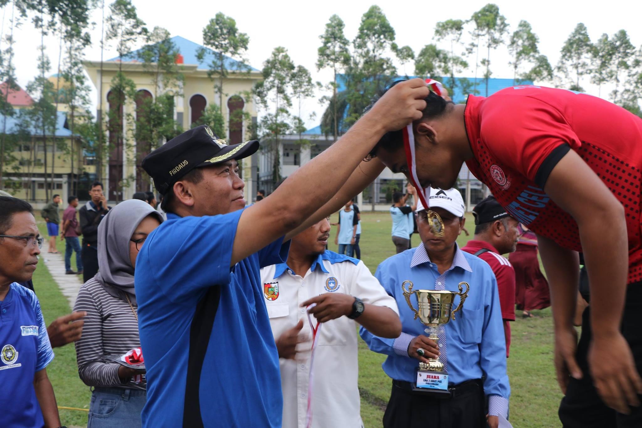 Penutupan Kompetisi PSSI kota Pekanbaru