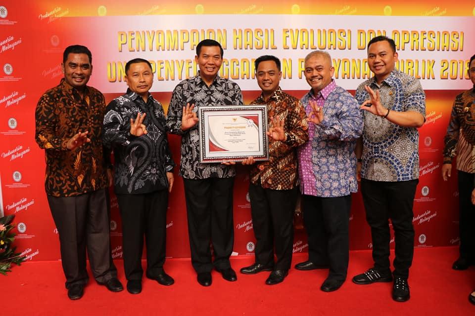 Pemko Pekanbaru Raih Tiga Penghargaan Nasional