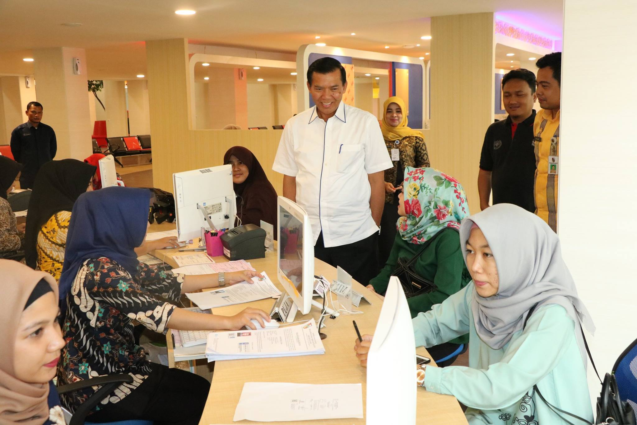 Wali Kota Pekanbaru Tinjau Pelayanan Publik di MPP