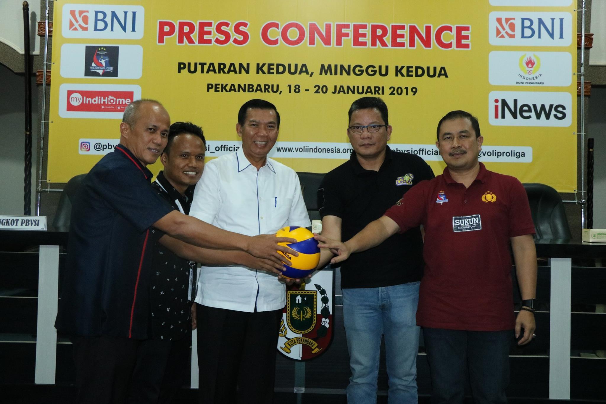 Press Conference Proliga Volly