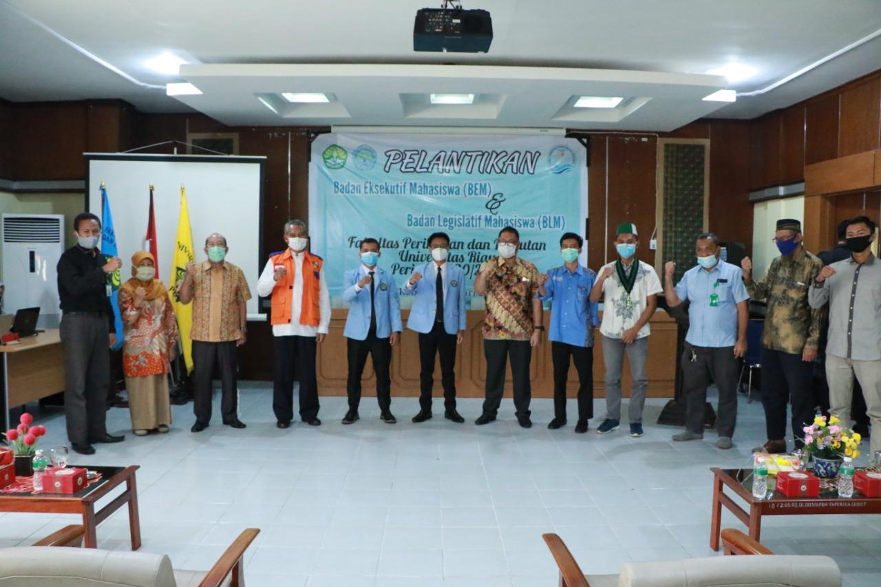 Foto bersama Wakil Walikota Pekanbaru Ayat Cahyadi