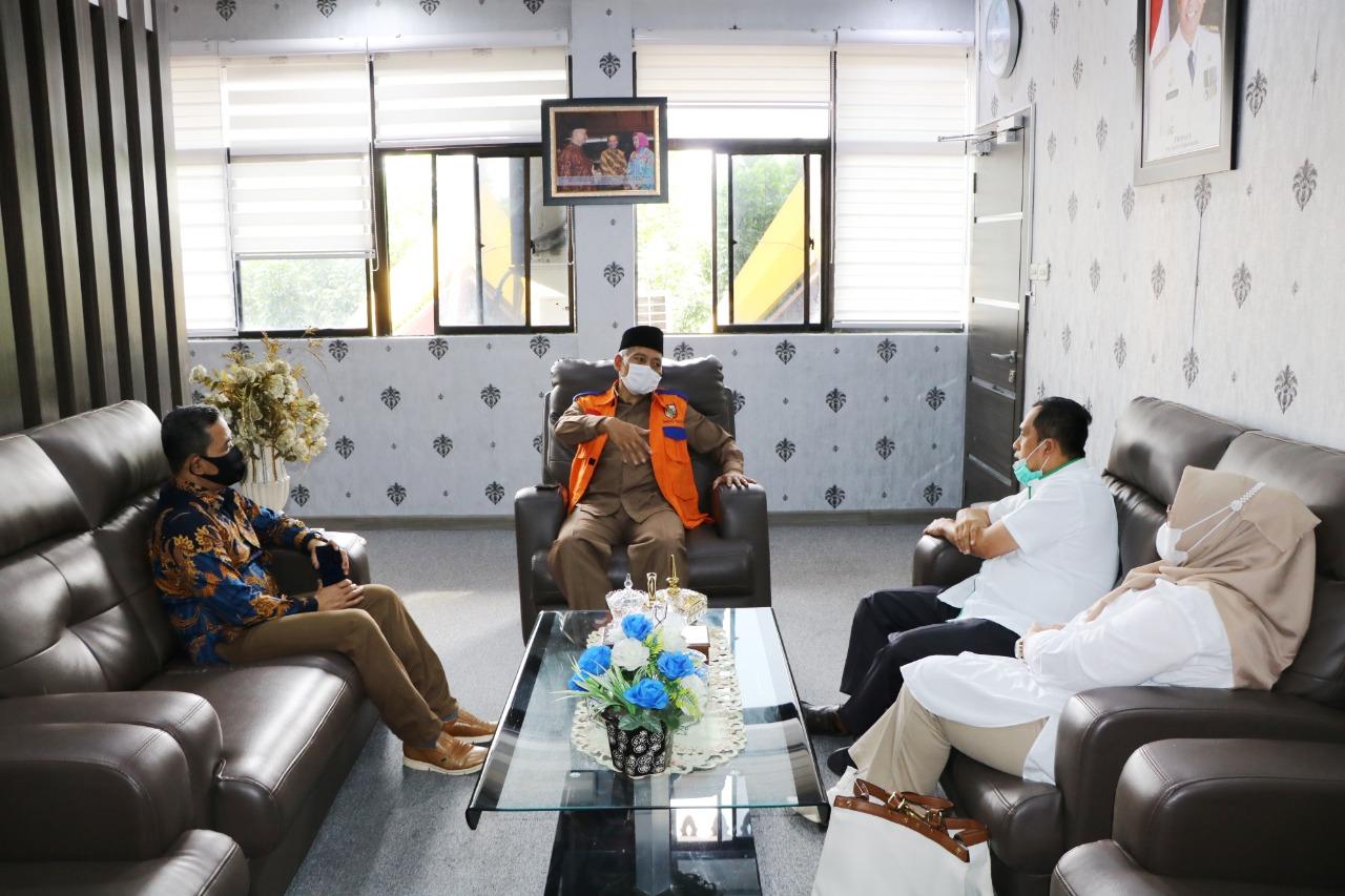 Silahturahmi Pimpinan Pengadaian Bersama Wakil Walikota Pekanbaru.