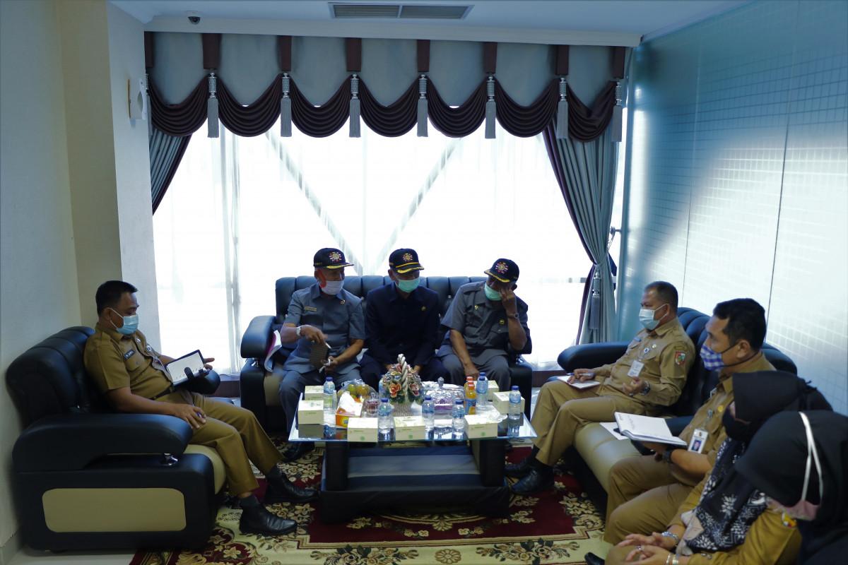 Image : Audiensi Sekdako dengan DPC Legiun Veteran Kota Pekanbaru
