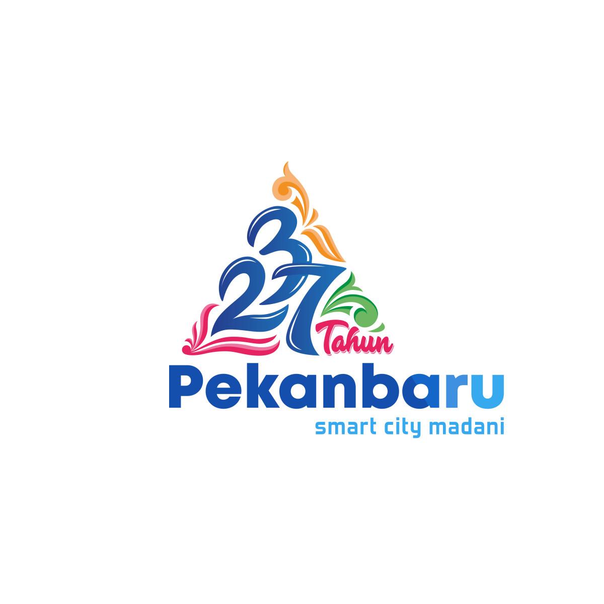 Logo dan Tema Hari Jadi Kota Pekanbaru ke-237