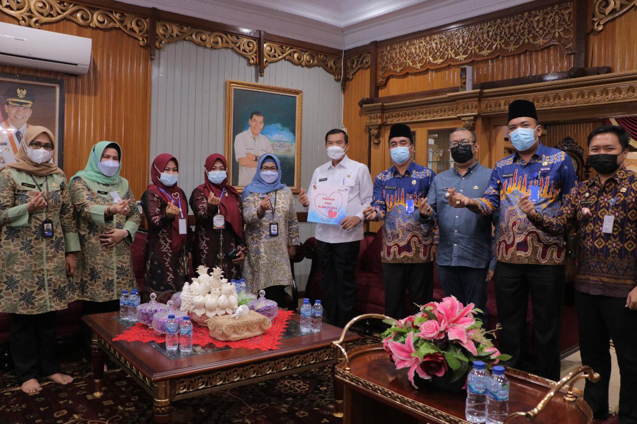 Wali Kota Jadi Orang Pertama Jalani Pendataan Keluarga Tahun 2021 di Pekanbaru