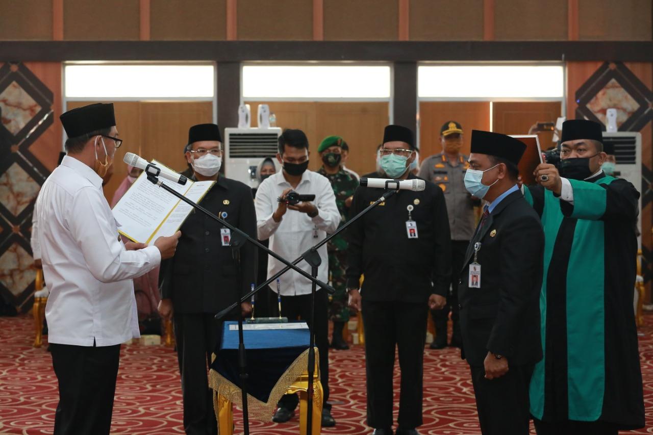 Image : Walikota Lantik M. Jamil sebagai Pj. Sekda Pekanbaru