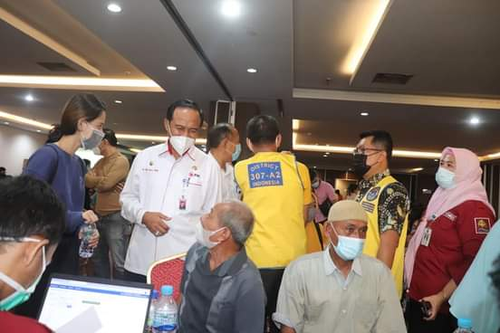 Vaksinasi Massal di Hotel Ameera Diikuti 1.200 Orang