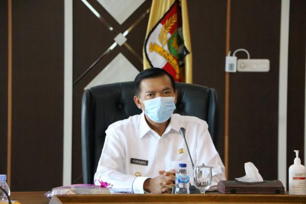 Walikota Bahas Pengembangan Water Front City Bersama BWSS Sumatera III