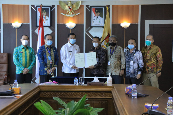 Pemko Pekanbaru Jalin Kerjasama dengan Politeknik Negeri Bengkalis