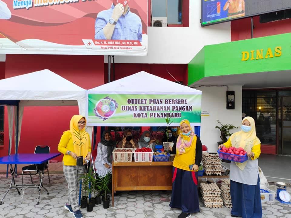 Image : Pekan Pangan Madani Ditutup, Outlet Puan Berseri Tetap Buka