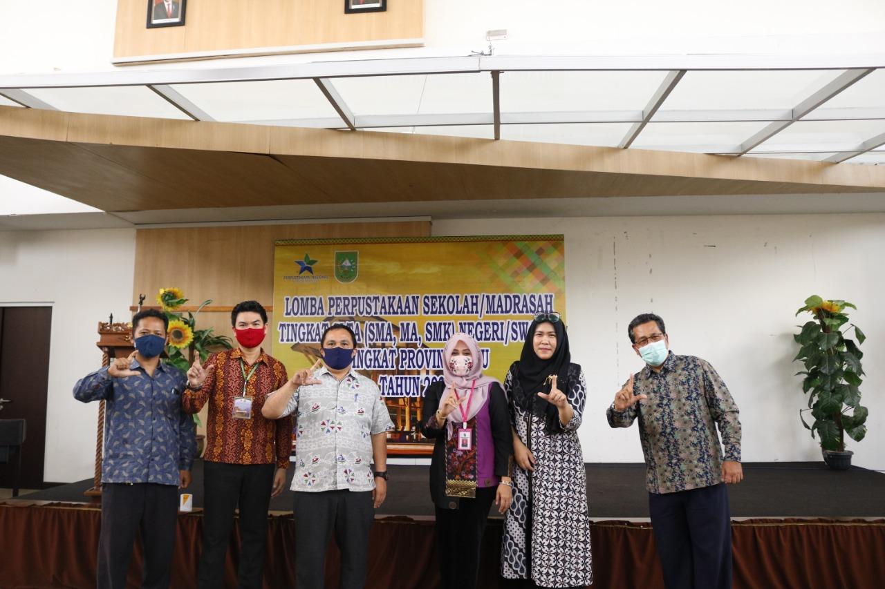 Image : SMK Abdurrab Wakili Pekanbaru Lomba Perpustakaan Tingkat Provinsi