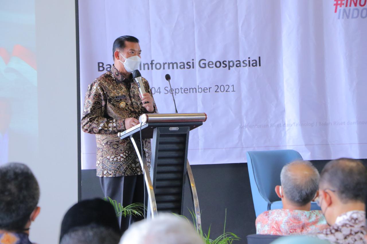Wali Kota: Geospasial Dibutuhkan untuk Susun Rencana RTRW