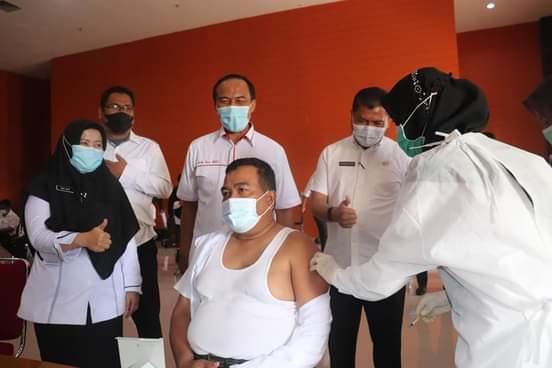 Diskes Sudah Vaksinasi 361 Pejabat dan ASN Pemko