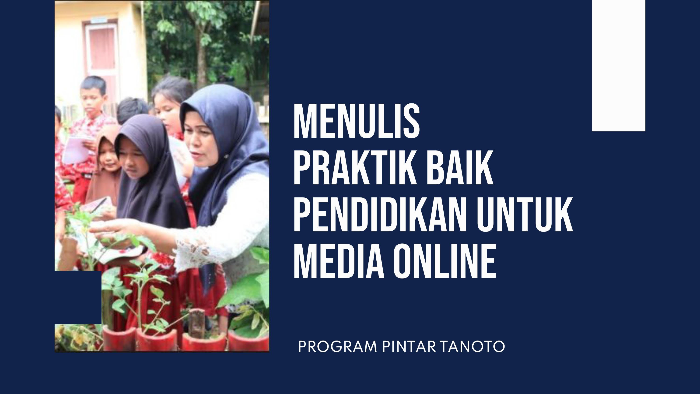 Image :  Media Gathering Program PINTAR Kembali Dilaksanakan
