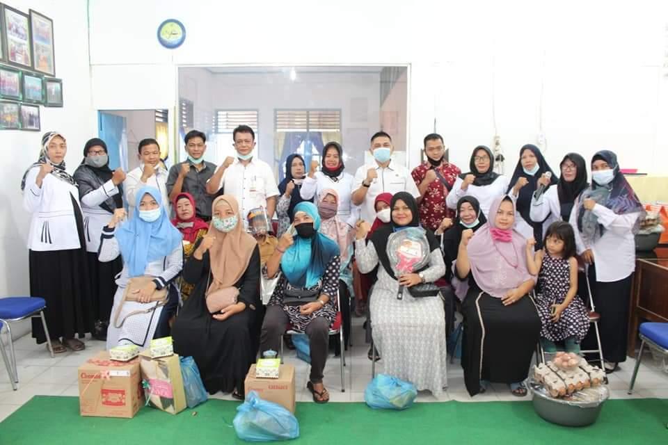 Image : MKPT Ke-2 se-Pekanbaru, UEK-SP Sidomulyo Berbagi di Tengah Pandemi