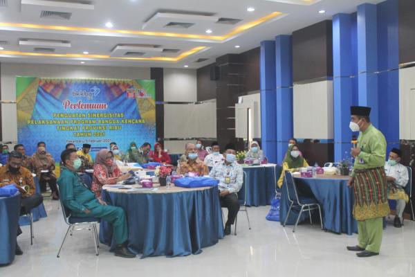 Kadisdalduk Jadi Narasumber Penguatan Sinergitas Program Bangga Kencana Tingkat Provinsi Riau