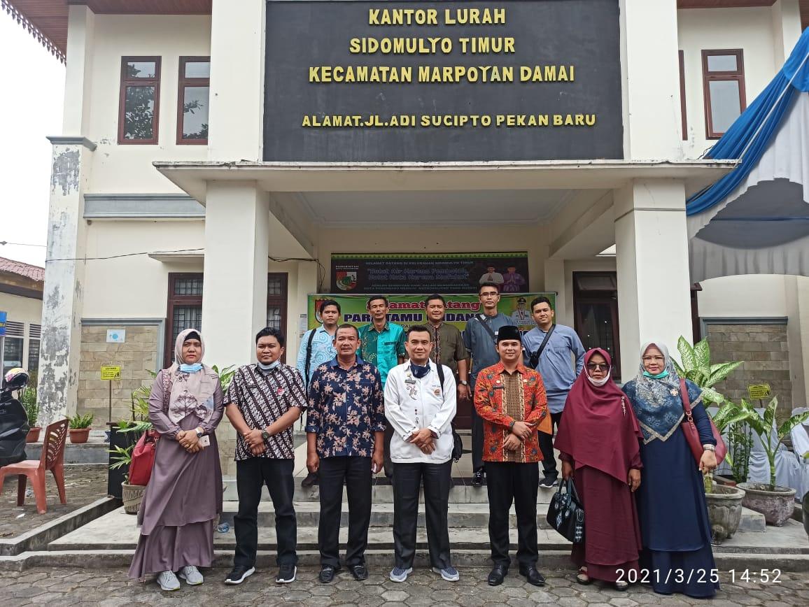 Tertarik Suksesnya Pemilihan RT/RW Serentak, Kecamatan Padang Barat Kunker ke Sidomulyo Timur