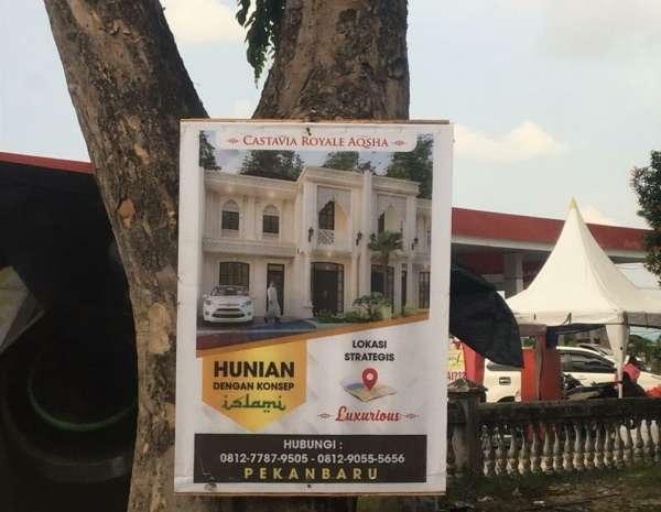 Pasang Reklame di Pohon, Dewan: Harus Diberi Sanksi