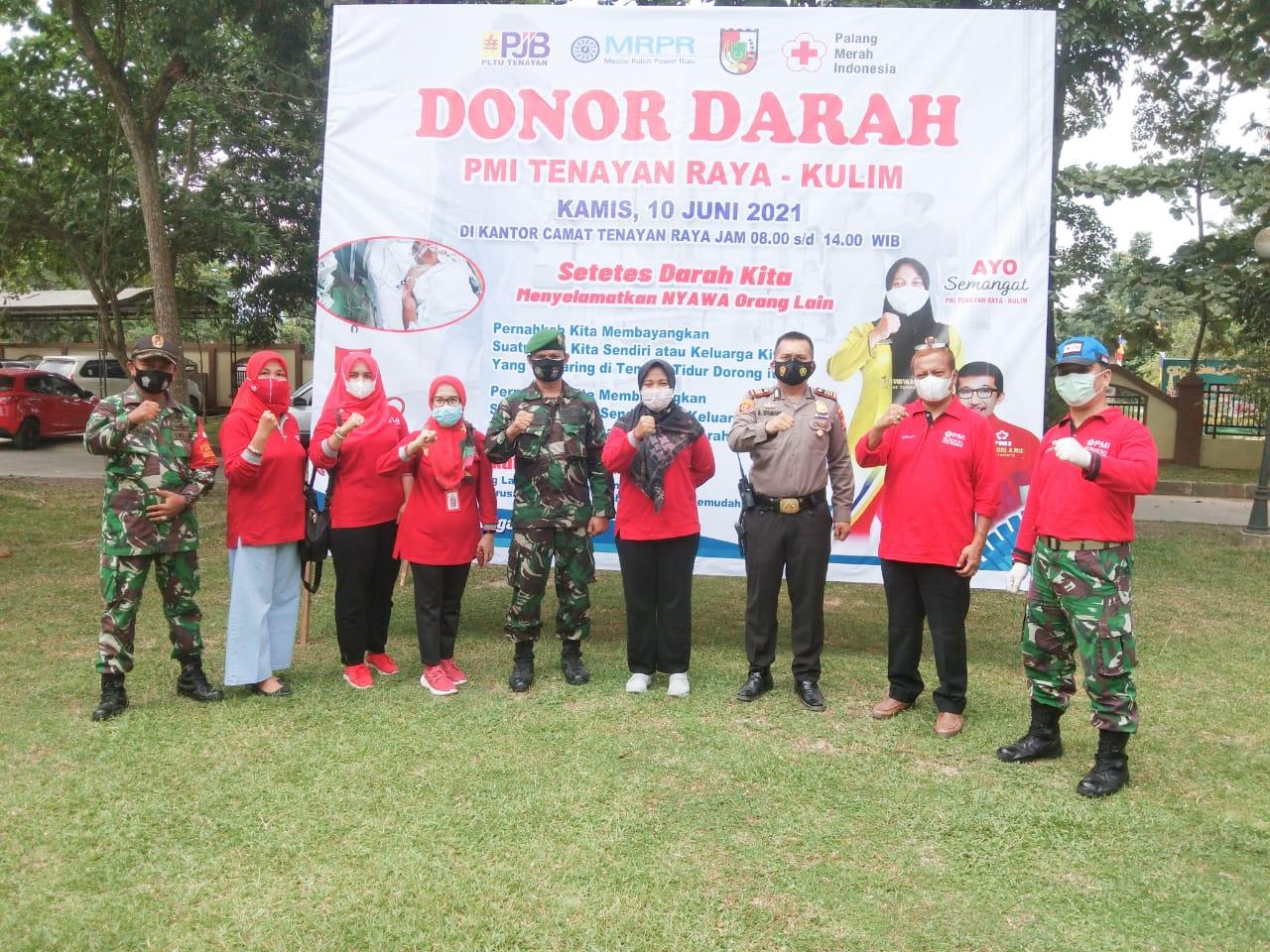 Image : Donor Darah di Tenayan Raya Terkumpul 115 Kantong Darah