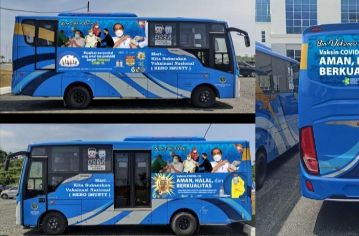 Image : Berikut Lokasi Bus Vaksinasi Keliling Hari Ini di Kota Pekanbaru