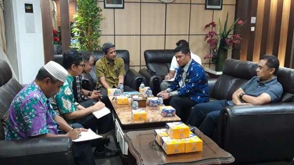 Rombongan DPMPTSPTK Kabupaten Tanah Datar Kunjungi MPP Pekanbaru