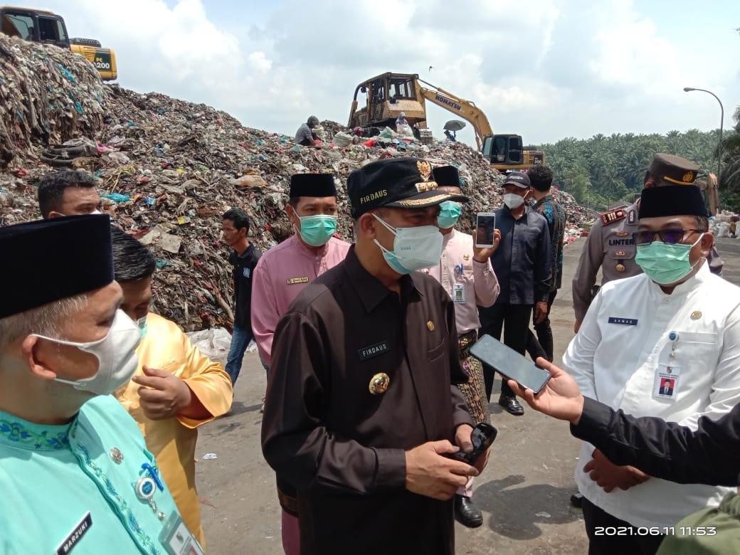 Image : TPA Muara Fajar Akan Diawasi Kepala UPT DLHK