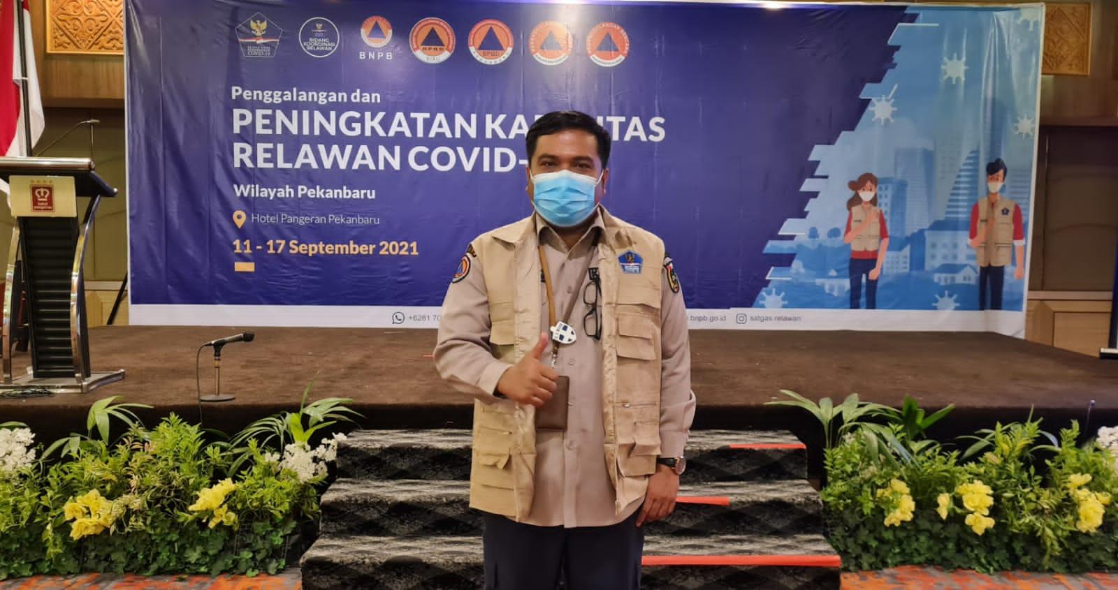Image : Kalaksa BPBD Sosialisasi Penanganan Covid-19 ke Relawan