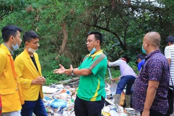 Sekda Ajak Kalangan Mahasiswa Ikut Berpartisipasi Bersihkan Sampah