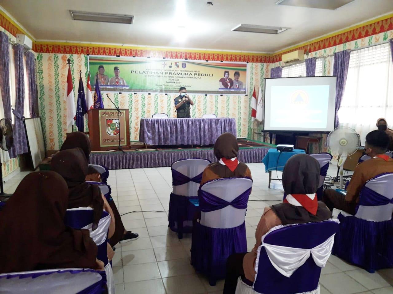 Image : BPBD Sosialisasi Penanggulangan Bencana ke Kwaran Pramuka Rumbai