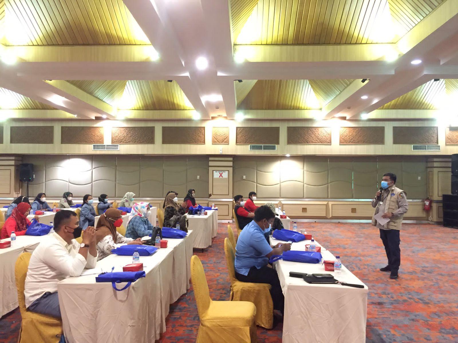 Image : BPBD Pekanbaru Jadi Narasumber dalam Pelatihan 1.000 Relawan Covid-19