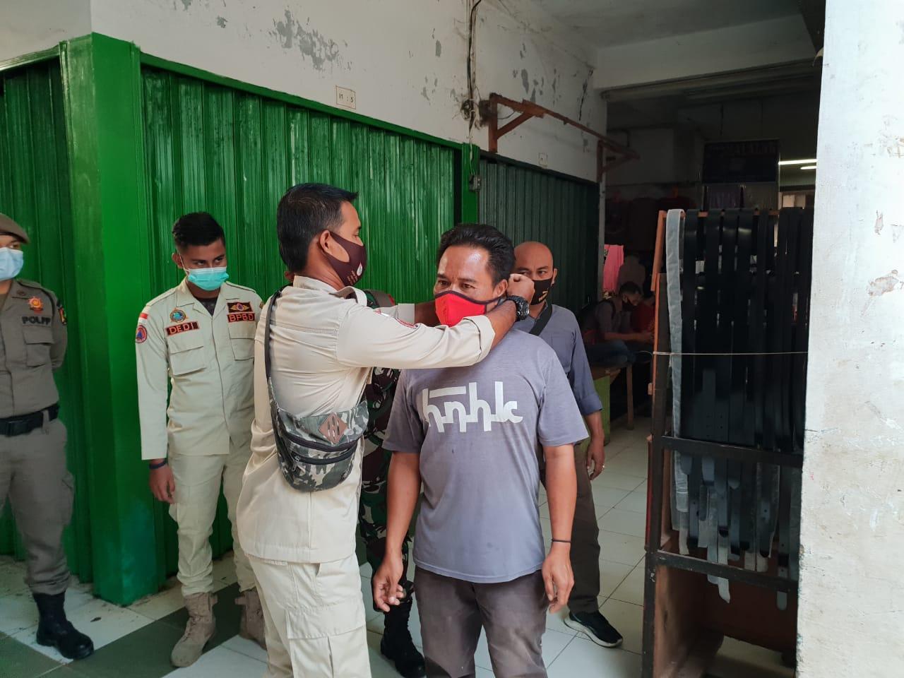 Razia Masker, Tim Gabungan Jaring 36 Pelanggar