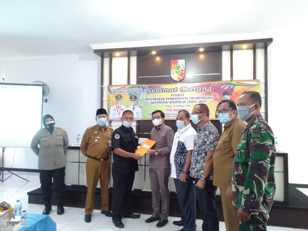 Image : Dibuka Wakil Ketua DPRD, Senapelan Gelar Musrenbang