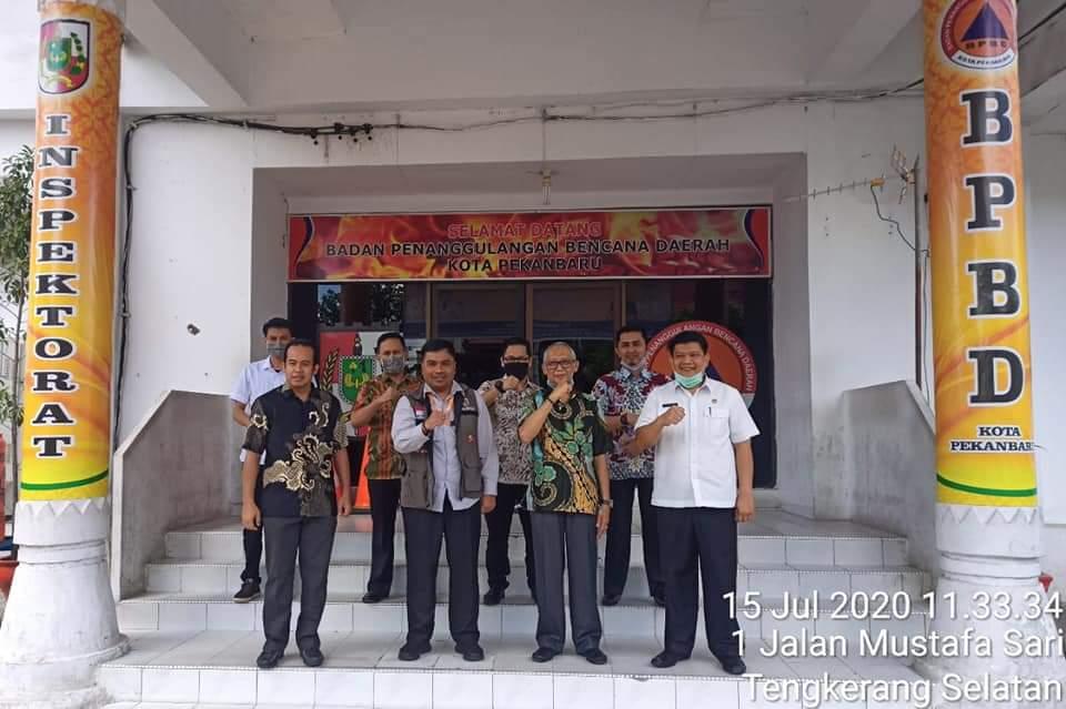 Image : BPBD Solok Belajar Tangani Covid-19 ke Pekanbaru.