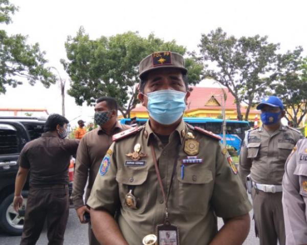 Satpol PP Kota Pekanbaru Gencarkan Razia Pelanggaran Prokes