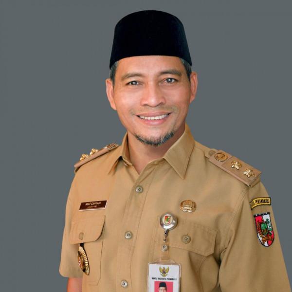 Kecamatan Binawidya dan Tuah Madani Dipisahkan Jalan Soebrantas