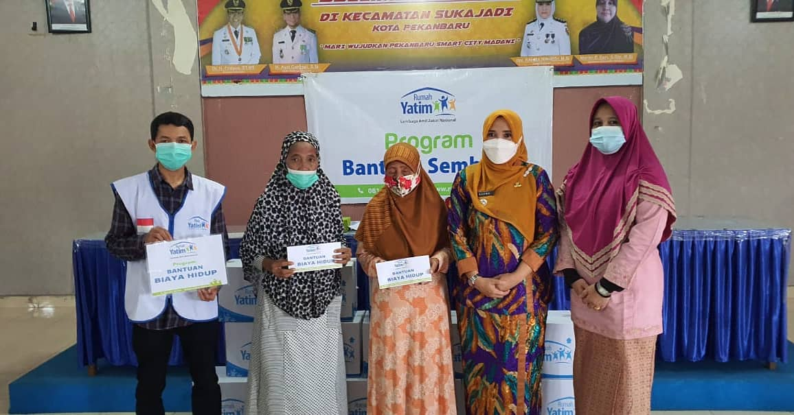 LAZNAS Rumah Yatim Salurkan Bantuan di Kecamatan Sukajadi