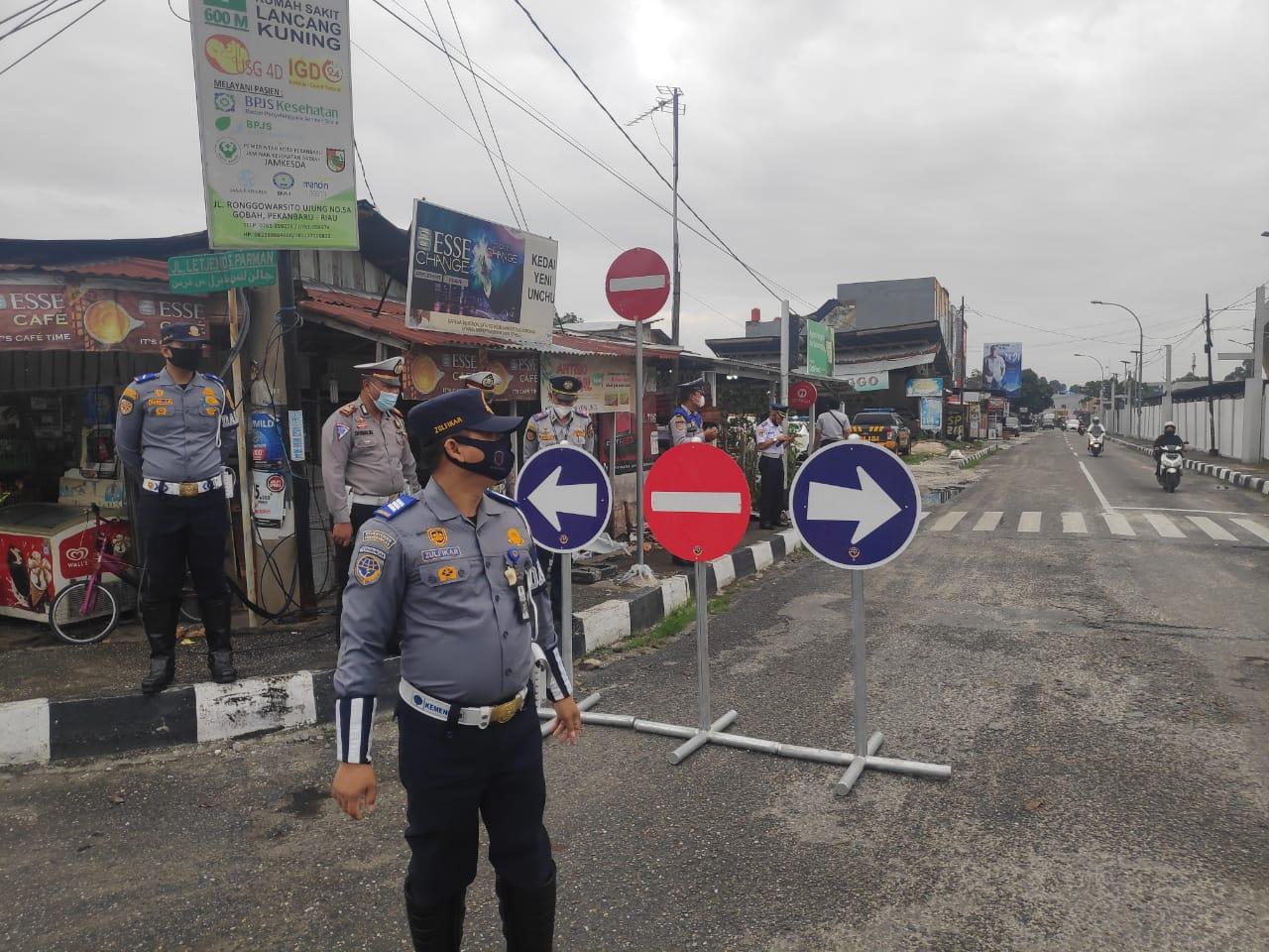 Image : Jalan S Parman Terapkan One Way