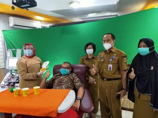 Image : PMI Pekanbaru Layani Donor Plasma Konvalesen