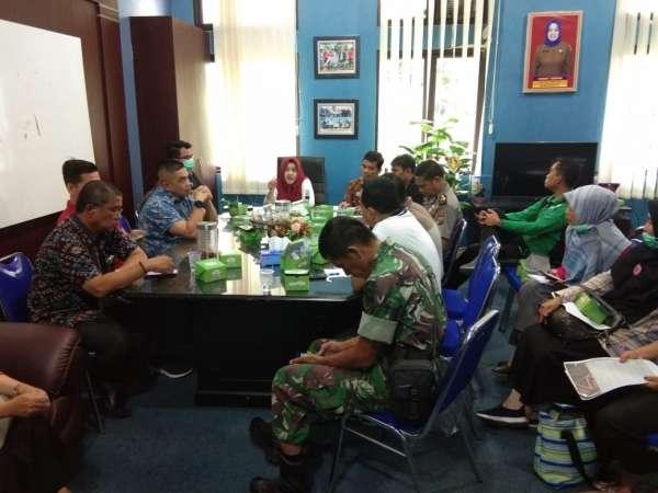 Kecamatan Tampan Gelar Rapat Koordinasi Sikapi Corona