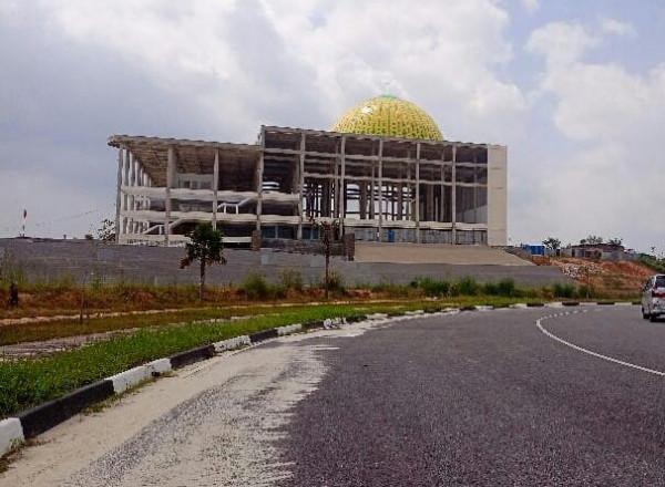 Image : Tahun Ini Islamic Centre Tahap Finishing
