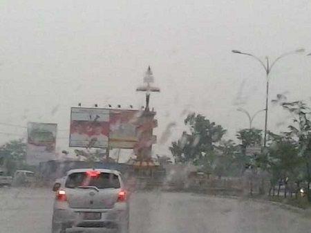 BMKG : Besok Pekanbaru Diprediksi Hujan