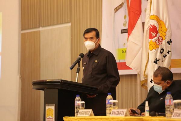 Image : Wali Kota Imbau Camat Bisa Gagas Kecamatan Sadar Hukum