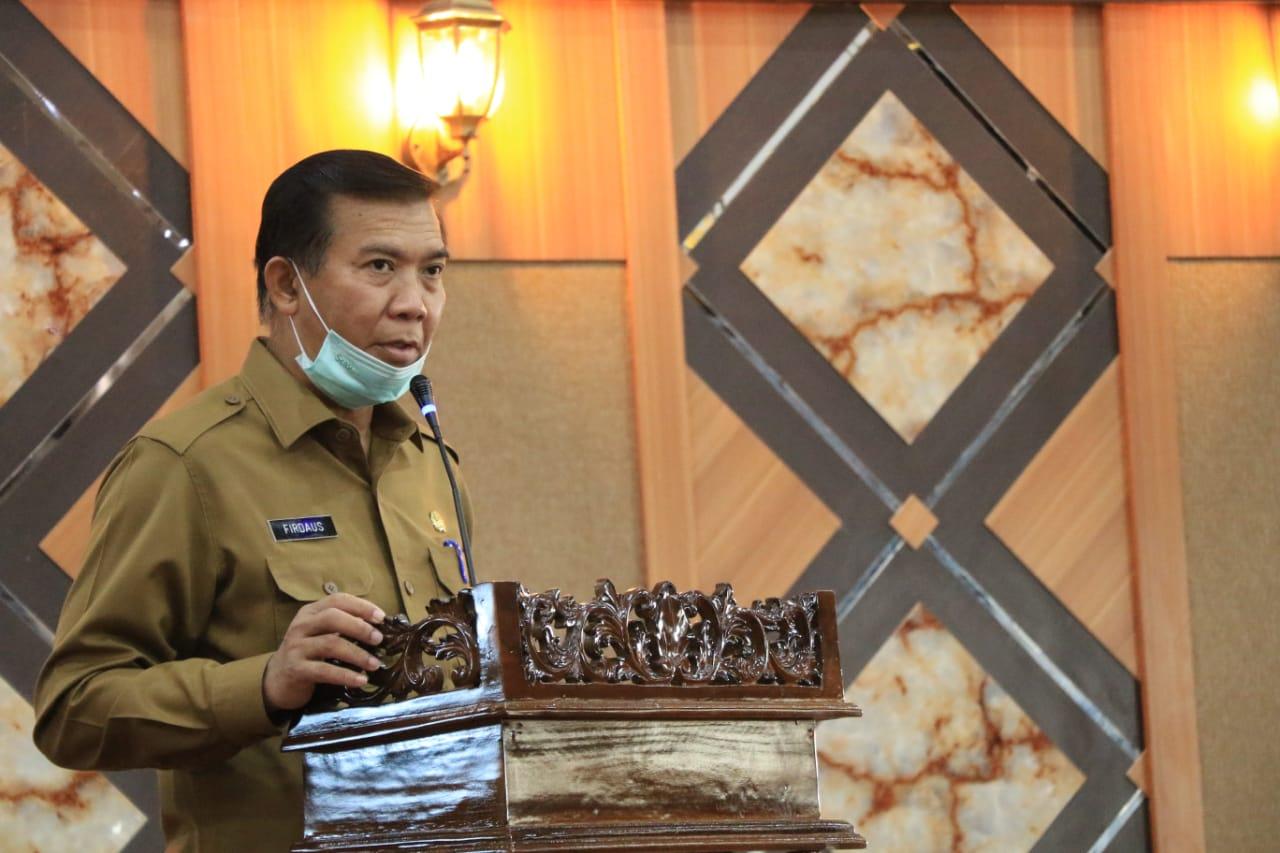 Image : Walikota Ikuti Webinar Kejagung Soal Aturan Pengadaan Barang dan Jasa
