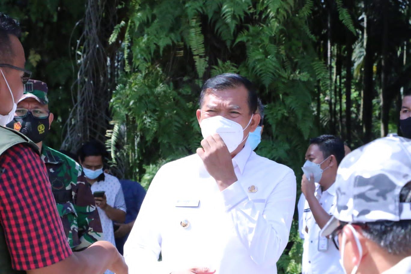Image : Wali Kota Laporkan Permasalahan PPKM Mikro ke Gubri